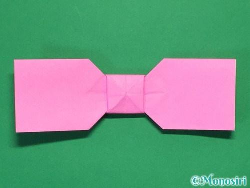 折り紙で可愛いリボンの折り方27