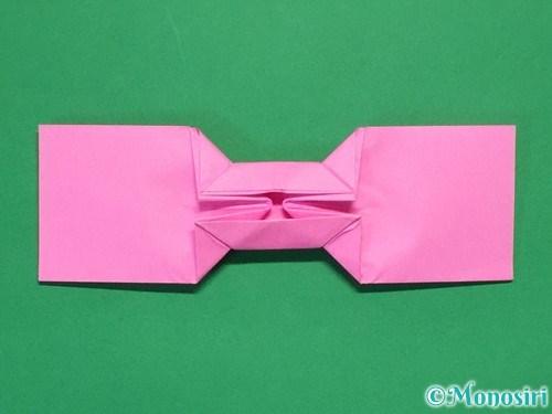 折り紙で可愛いリボンの折り方28