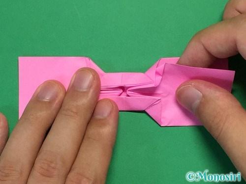 折り紙で可愛いリボンの折り方29