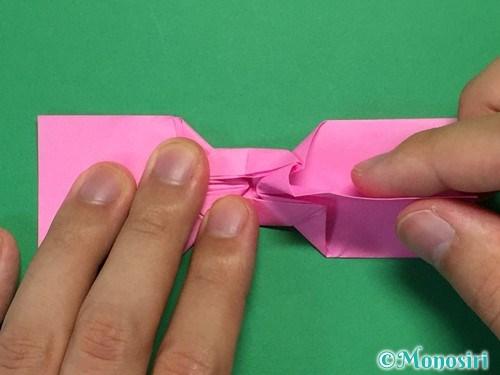 折り紙で可愛いリボンの折り方30