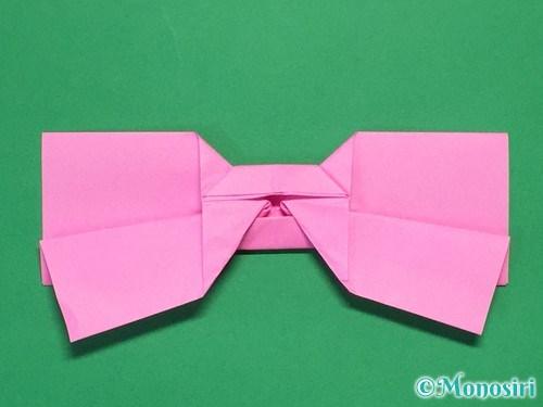 折り紙で可愛いリボンの折り方33