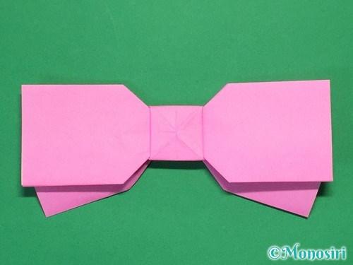 折り紙で可愛いリボンの折り方34