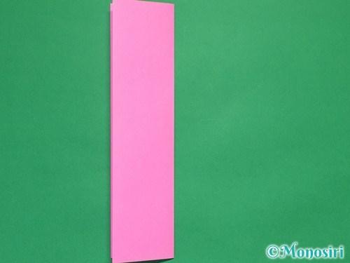 折り紙で可愛いリボンの折り方5