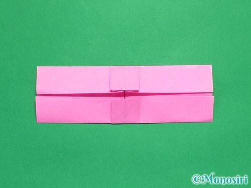 折り紙で簡単リボンの折り方13