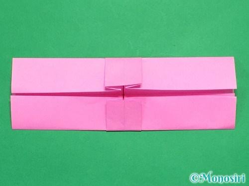 折り紙で簡単リボンの折り方14