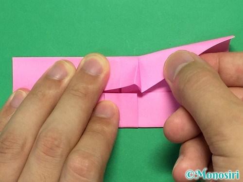 折り紙で簡単リボンの折り方16