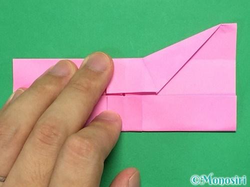 折り紙で簡単リボンの折り方18