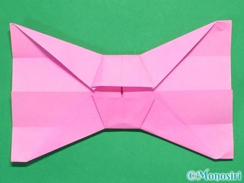 折り紙で簡単リボンの折り方20