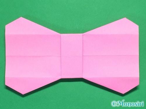 折り紙で簡単リボンの折り方23
