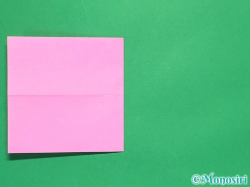 折り紙で簡単リボンの折り方5