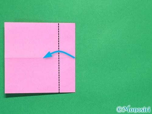 折り紙で簡単リボンの折り方6