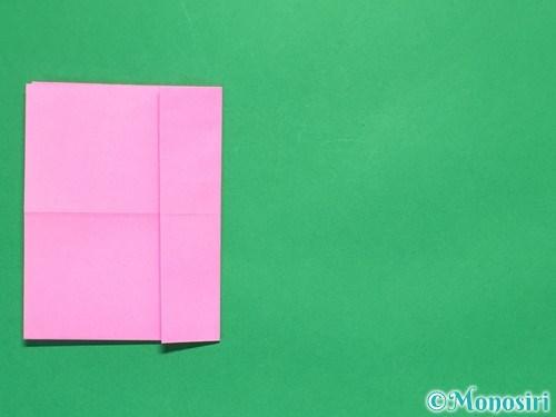 折り紙で簡単リボンの折り方7