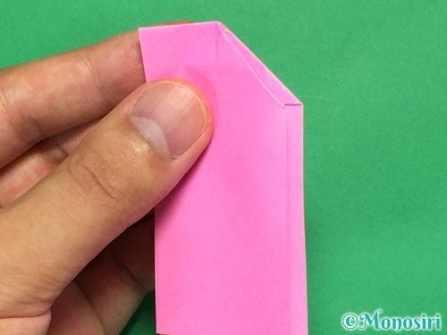 折り紙でリボンの箸置きの折り方12