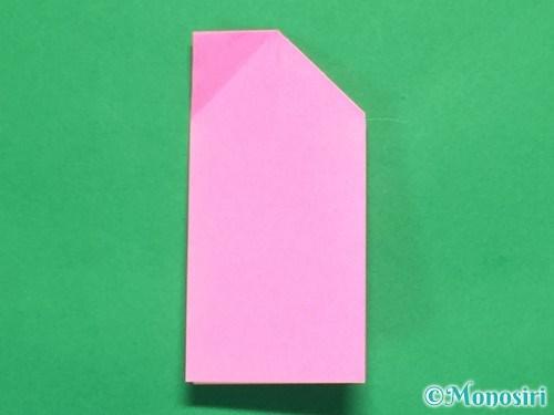 折り紙でリボンの箸置きの折り方13