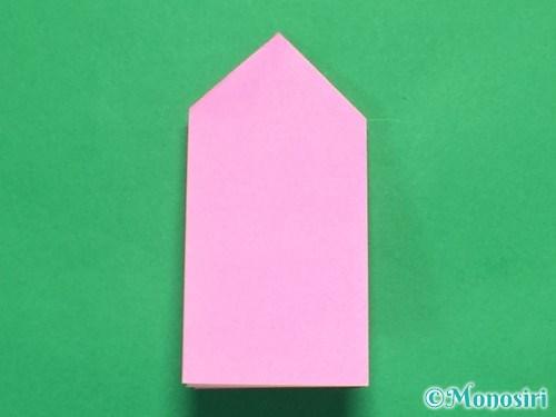 折り紙でリボンの箸置きの折り方14
