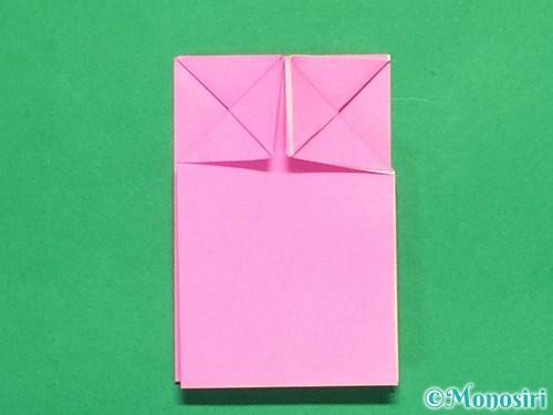 折り紙でリボンの箸置きの折り方21