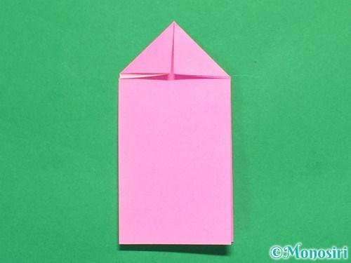折り紙でリボンの箸置きの折り方8
