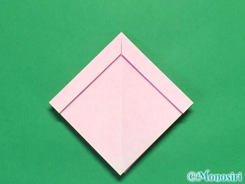 折り紙で立体的なリボンの折り方19