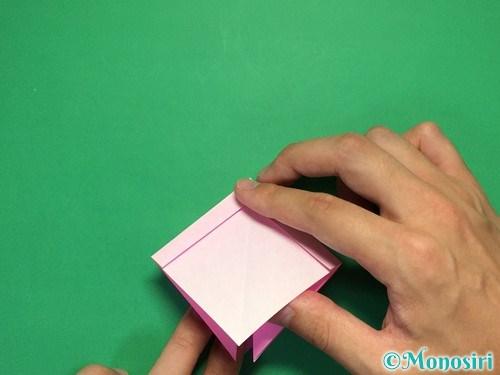 折り紙で立体的なリボンの折り方20