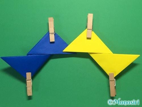 折り紙で簡単な手裏剣の作り方10