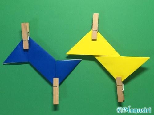 折り紙で簡単な手裏剣の作り方11