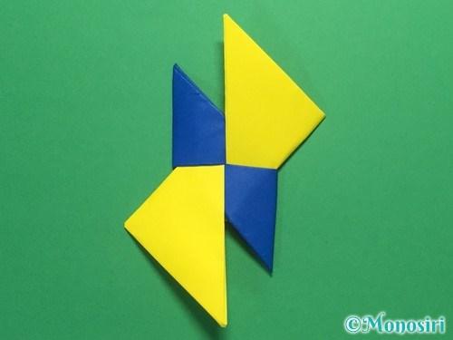 折り紙で簡単な手裏剣の作り方14