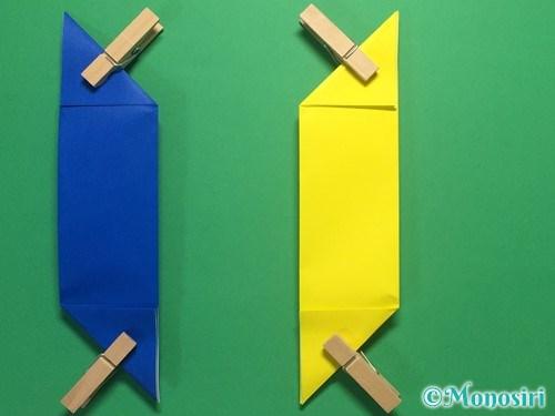 折り紙で簡単な手裏剣の作り方8