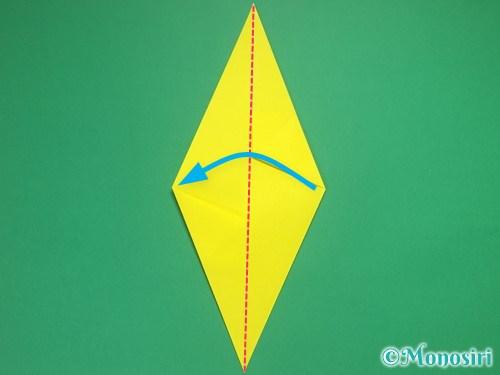 4枚の折り紙で手裏剣の作り方②6