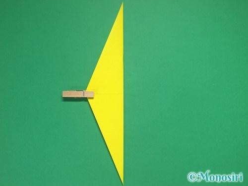 4枚の折り紙で手裏剣の作り方②7