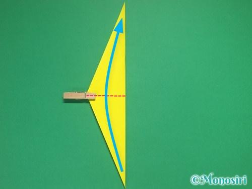 4枚の折り紙で手裏剣の作り方②8