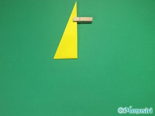 4枚の折り紙で手裏剣の作り方②9