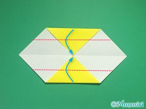 4枚の折り紙で手裏剣の作り方4