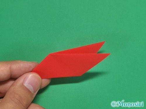 8枚の折り紙で手裏剣の作り方10
