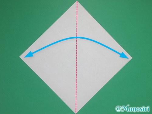 8枚の折り紙で手裏剣の作り方②1