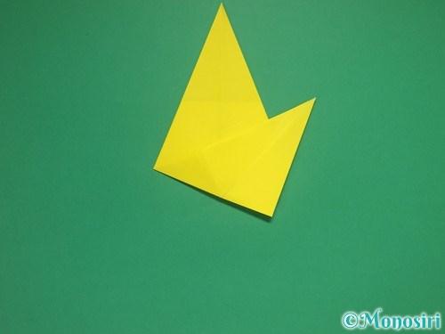 8枚の折り紙で手裏剣の作り方②10