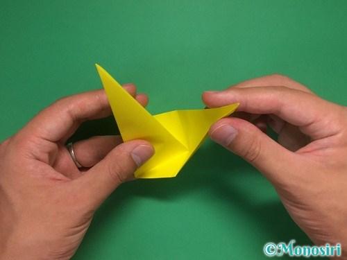 8枚の折り紙で手裏剣の作り方②13