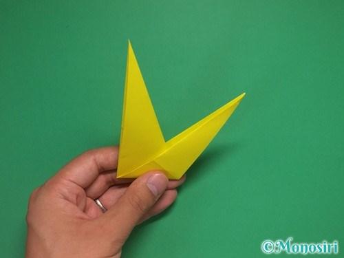 8枚の折り紙で手裏剣の作り方②14