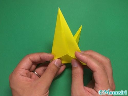 8枚の折り紙で手裏剣の作り方②15