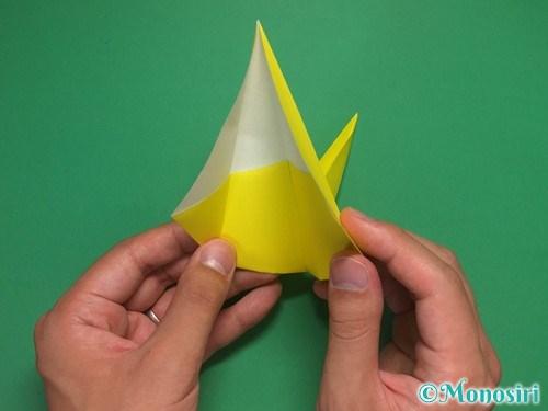 8枚の折り紙で手裏剣の作り方②16