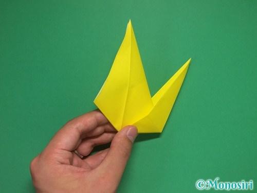 8枚の折り紙で手裏剣の作り方②17