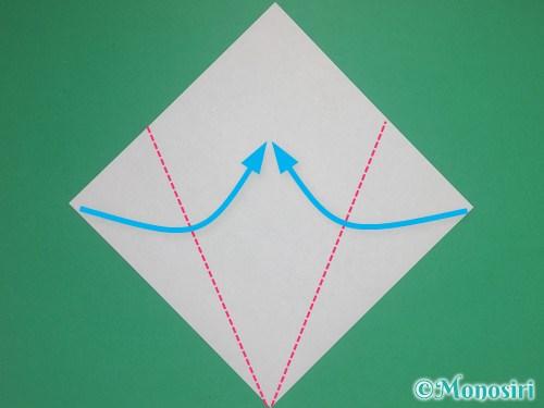 8枚の折り紙で手裏剣の作り方②2