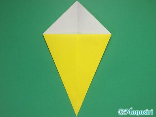 8枚の折り紙で手裏剣の作り方②3
