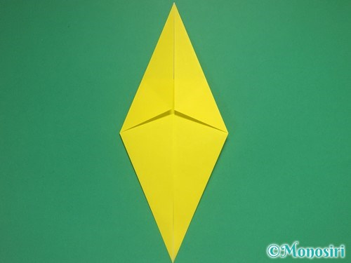 8枚の折り紙で手裏剣の作り方②5