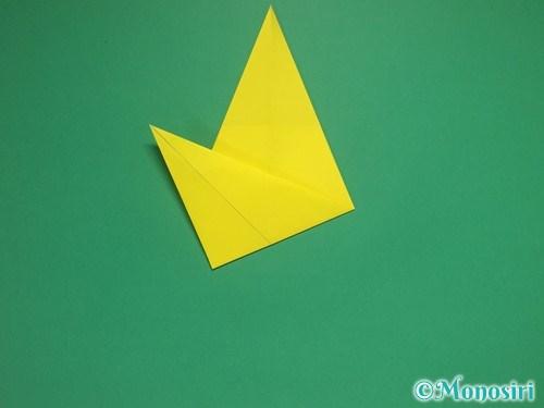 8枚の折り紙で手裏剣の作り方②7