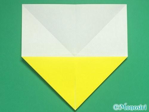 8枚の折り紙で手裏剣の作り方4