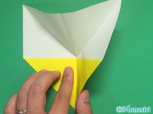 8枚の折り紙で手裏剣の作り方5