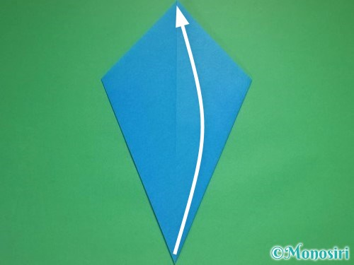 折り紙で雪の結晶の折り方8