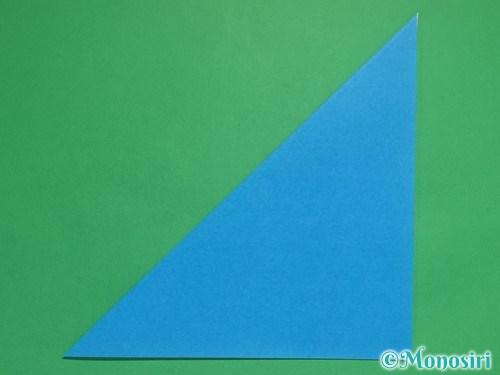折り紙で立体的な雪の結晶の作り方2