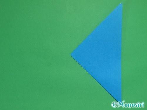 折り紙で立体的な雪の結晶の作り方4