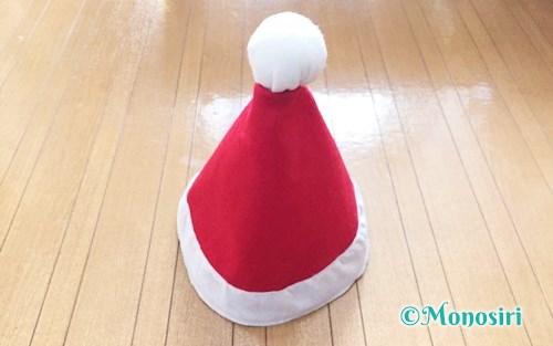 フェルトで作ったサンタ帽子